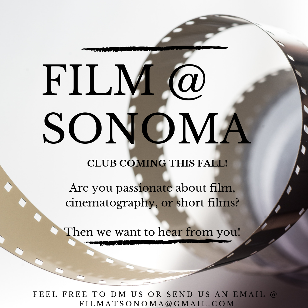 Film @ Sonoma club flyer