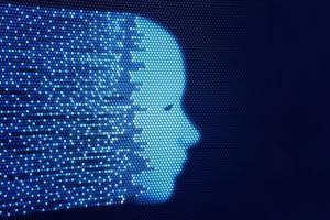 Computer Dot Face