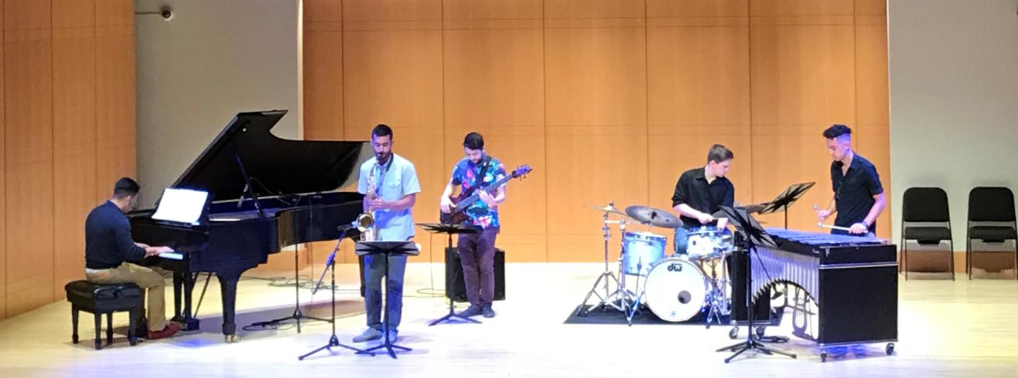 Scholarship showcase band 2018