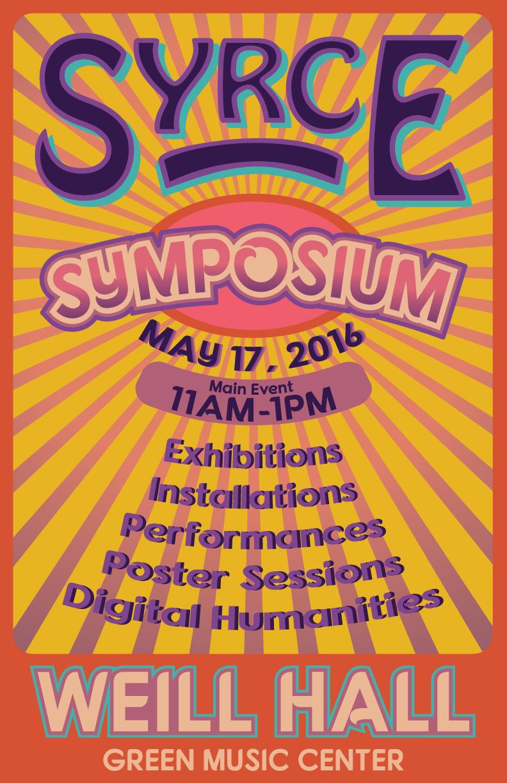 SYRCE Symposium Spring 2016