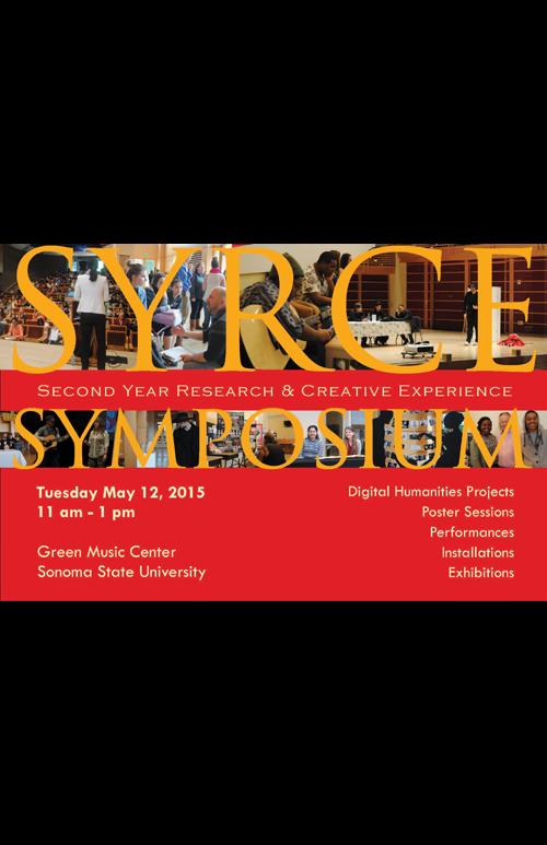 SYRCE Symposium Spring 2015